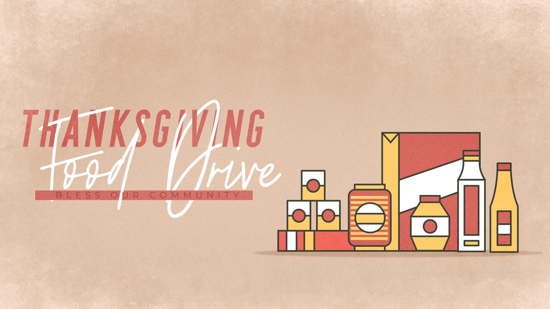 November Food Pantry