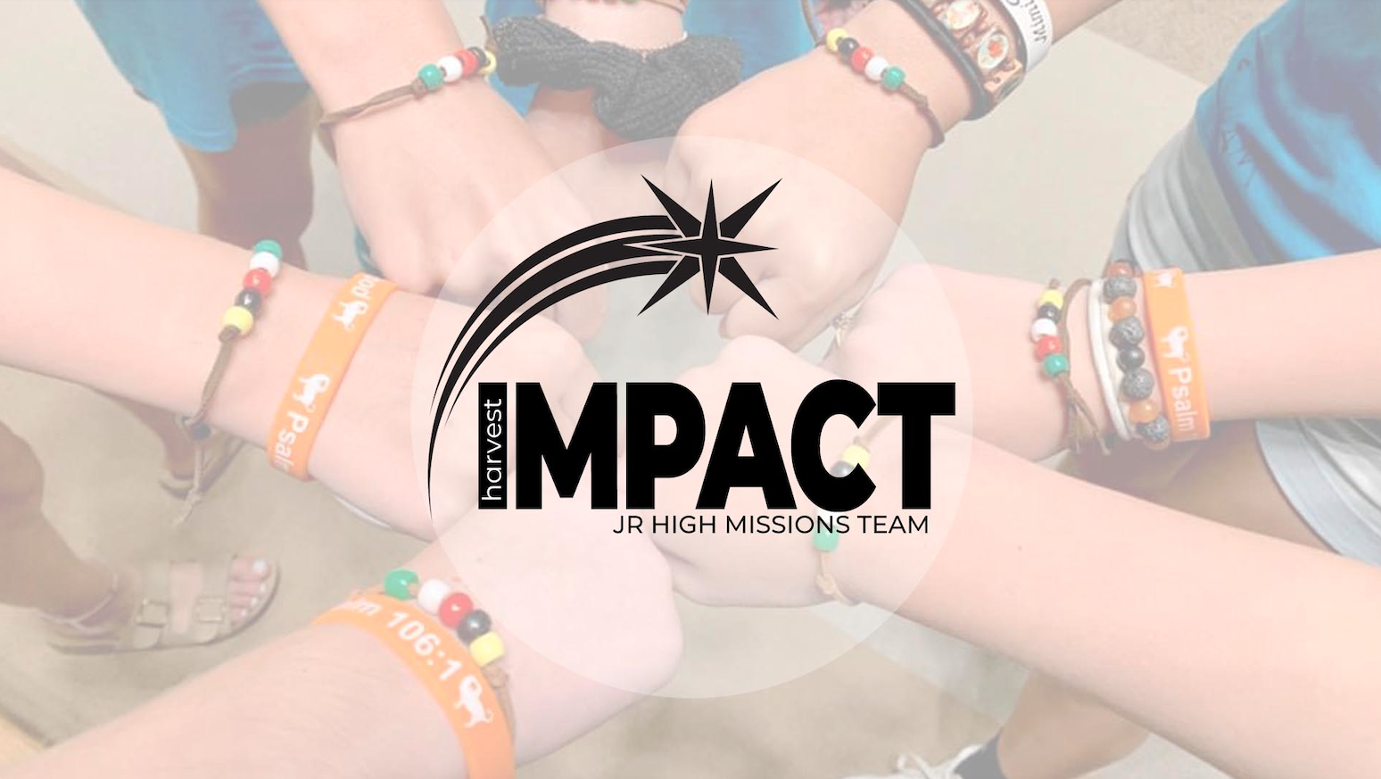 Harvest Impact - Jr. High Mission Team