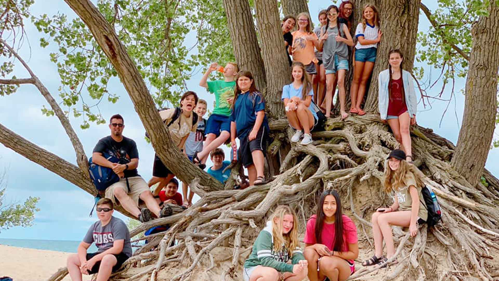 Junior High Dunes Day
